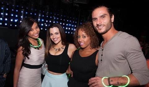 HNS Fridays at Get Down: Nicole Ortiz, Alex Kavouras, Morgan Moses-Allen, Heidi Klotzman
