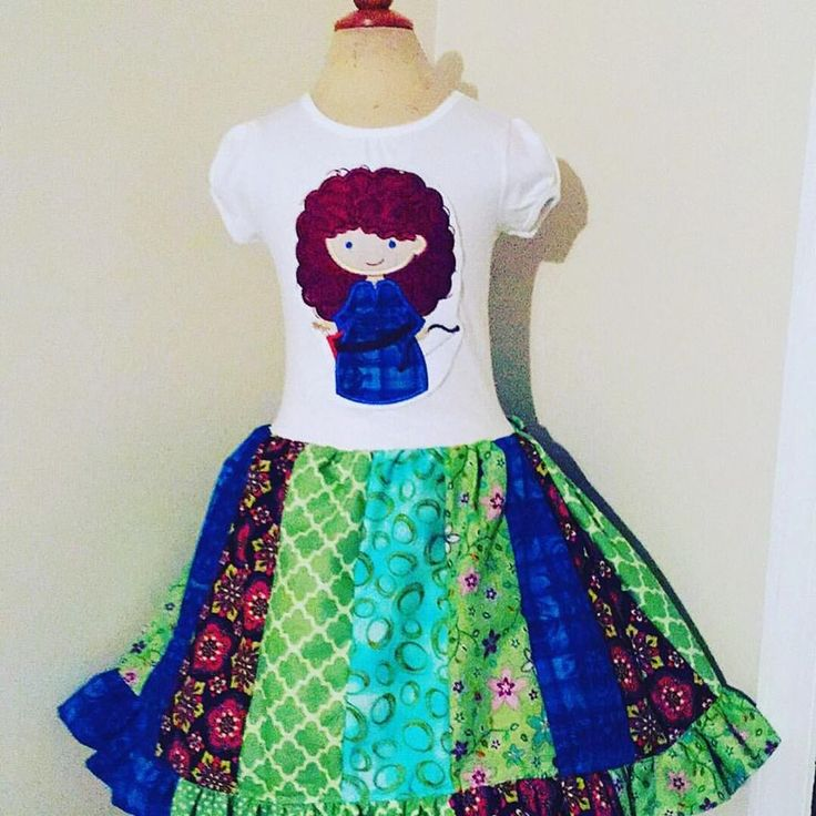 Image of Brave Merida Cutie Dress