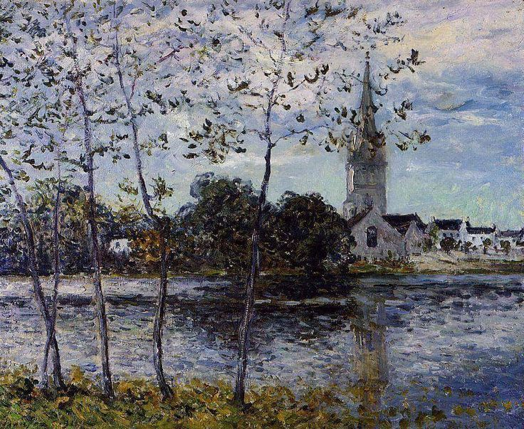 Maxime Maufra (1861-1918) - The banks of the pond at Rosporden, Finistere (1911)