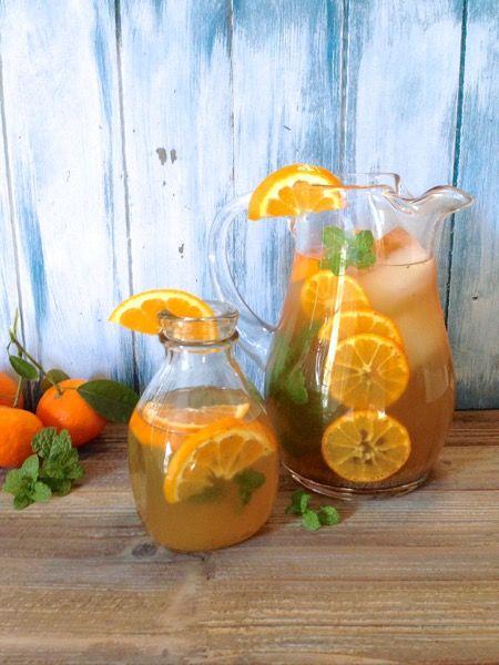Mandarin Green Tea Recipe #Gree_Tea #Fresh_Start #Healthy_Living