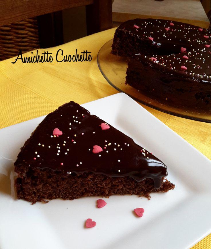 Torta al cioccolato e kefir