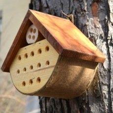Domek dla owadów - mały