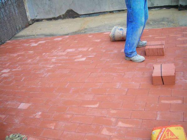pavimento de baldosín para terrazas valencia