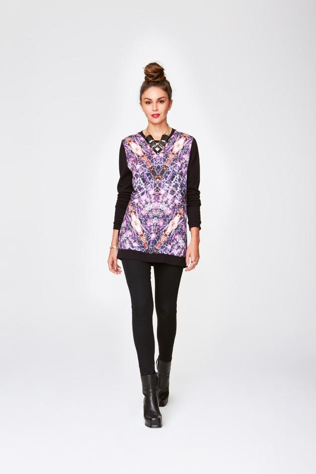 Great print and the perfect piece to get me through the start of this cooler weather. East Meets West #SPORTSGIRL