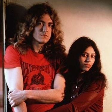 Today in 1968, Robert Plant and his first wife, Maureen, were married in London