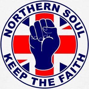 NORTHERN-SOUL-KEEP-THE-FAITH-Music-Cool-vinyl-car-van-decal-sticker