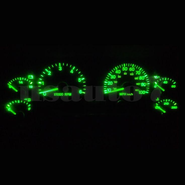 Dash Instrument Cluster Gauge GREEN LEDs LIGHTS KIT Fits 97-06 Jeep Wrangler TJ | eBay Motors, Parts & Accessories, Car & Truck Parts | eBay!