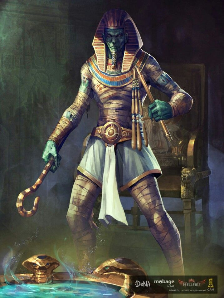 Egyptian God Osiris