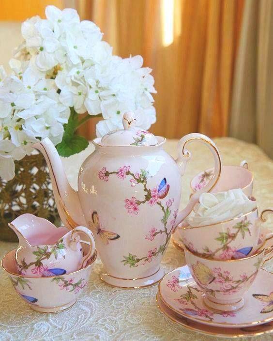 Perfect tea time.