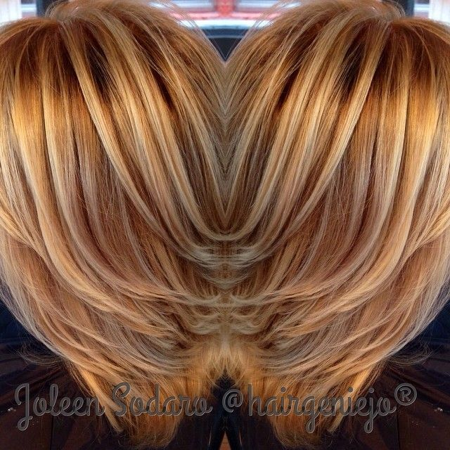 Hair by Joleen Sodaro blonde hilights balayage lowlights ...