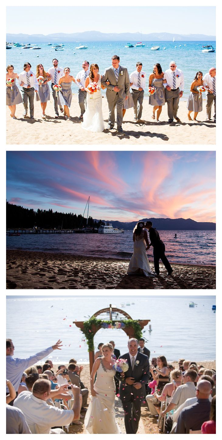 Best Beach Weddings In South Lake Tahoe