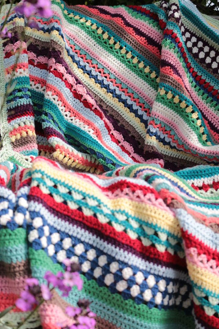 20 best earth day crochet patterns thrifty crafts and diy spice of life blanket by sandra paul free crochet pattern ravelry bankloansurffo Images