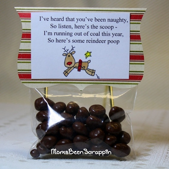 tic tac snowman poop christmas gift pinterest