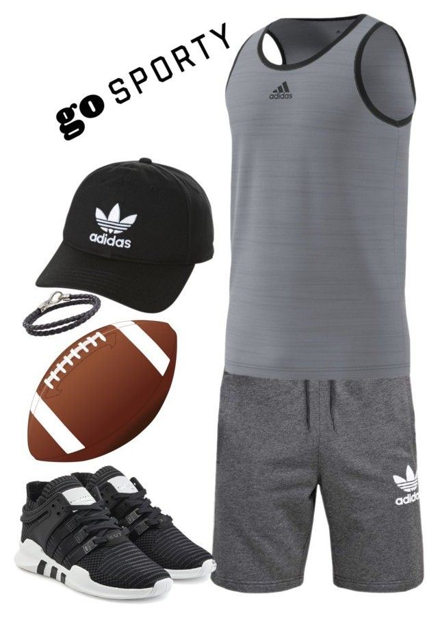 """Sporty Men's Style"" by saffaatun on Polyvore featuring adidas Originals, adidas, Tod's, men's fashion and menswear"
