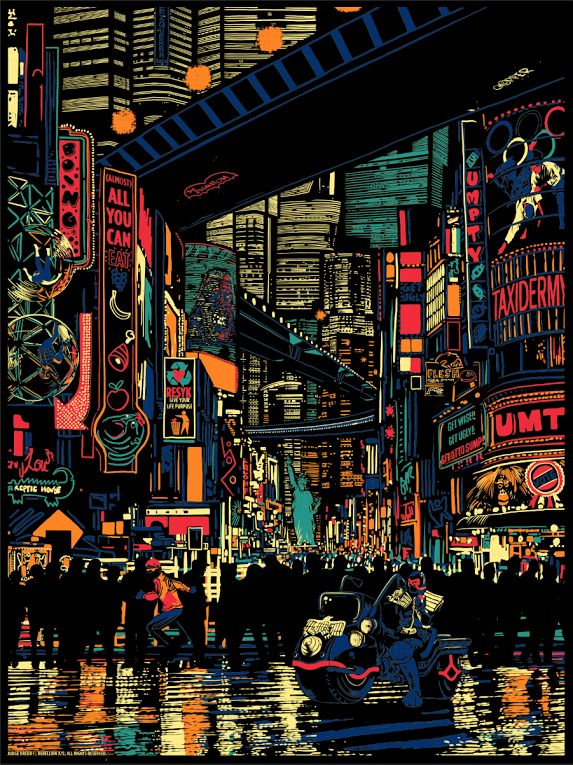 Raid 71 - Urban Sprawl - Judge Dredd Official Print for Vice Press Regular