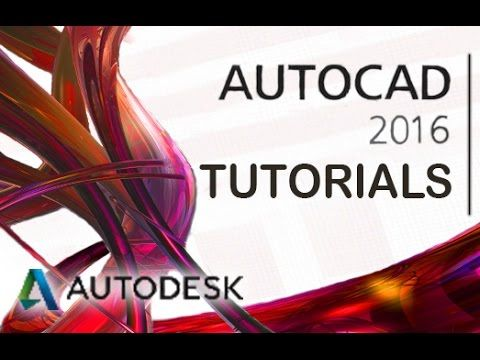 [VOICE + TEXT] Get into a new Way of Learning AutoCAD 2016 by Autodesk. AutoCAD 2016 tutorial for beginners, getting started, basics. Full Guide here: http:/...