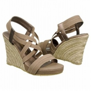 SALE - Chinese Laundry De Lux Wedge Heels Womens Taupe - $35.4 ONLY. Was $59.00 - You SAVE $24.00.