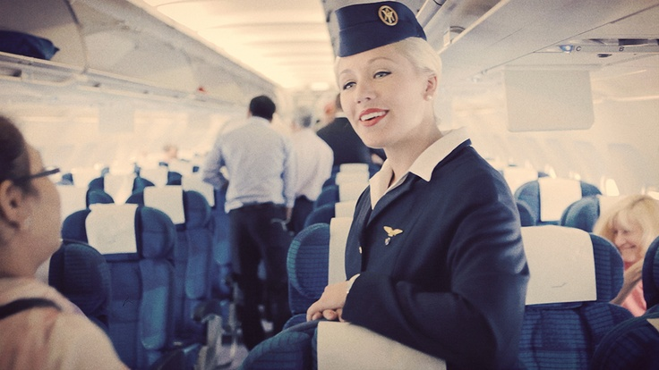 Finnair retro cabin crew