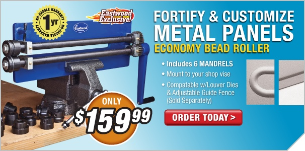 Sheet Metal Fabrication Tools - Sheet Metal Fabricator - Metal Shaping - Eastwood