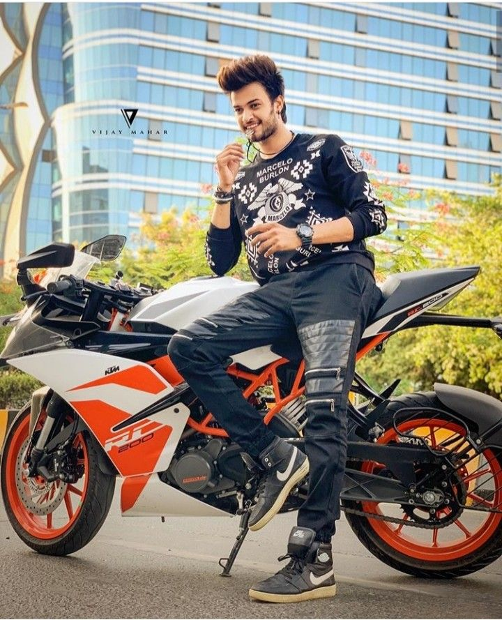 Saddu07 Bike Pic Mens Photoshoot Poses Cute Boys Images