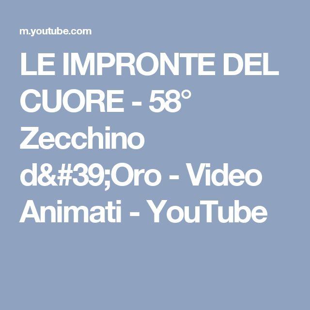 LE IMPRONTE DEL CUORE - 58° Zecchino d'Oro - Video Animati - YouTube