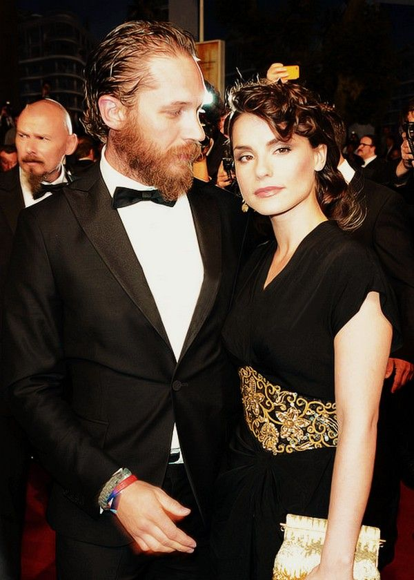 Tom Hardy & Charlotte Riley at the Lawless Premiere in Cannes 2012, France / TH0056C (TH0088F)