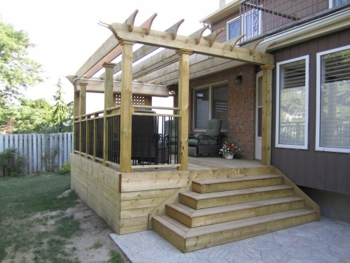 Low Level Decks   Traditional   Patio   Toronto   JWS Woodworking And  Design Inc. Find This Pin And More On Small Deck Ideas ...
