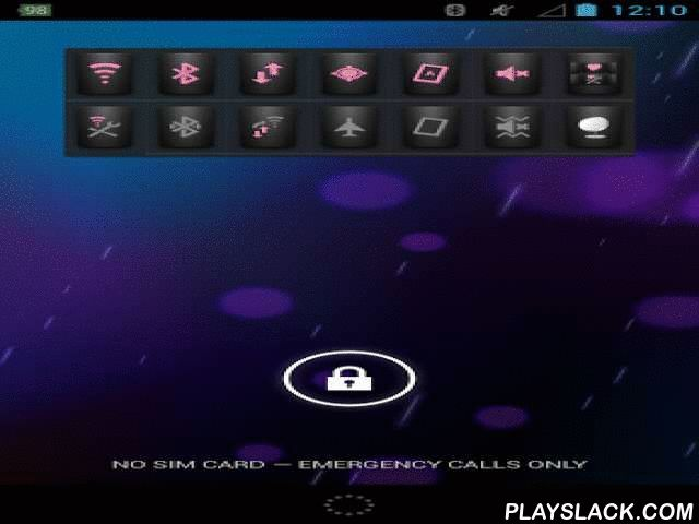 Lock Screen Swipe Settings  Android App - playslack.com , Swipe Settings Tool ControlDo you experience short battery time and find it difficult to find the right settings? This app provides shortcuts to functions like Wi-Fi, Bluetooth, GPS etc. on your lockscreen as a widget!A very good thing is that the app comes pre-configured, just install the app and you are ready!Change screen brightness instantly, change ringer mode instantly, or maybe you want to enable WiFi which is done with just…