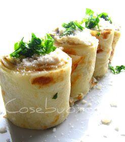 Adoro le crepes!! Calde, fredde, dolci, salate. Ricordo ancora il sapore delle prime crepes suzette mangiate alla Fiera del Mediterraneo,qu...