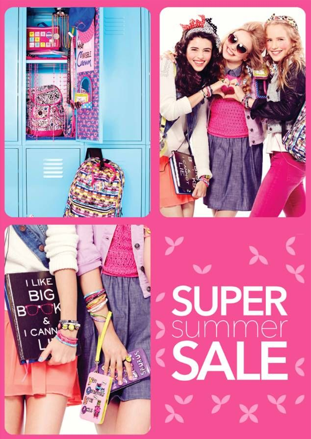 It's the super summer sale at Claire's! Grab it while stocks last!