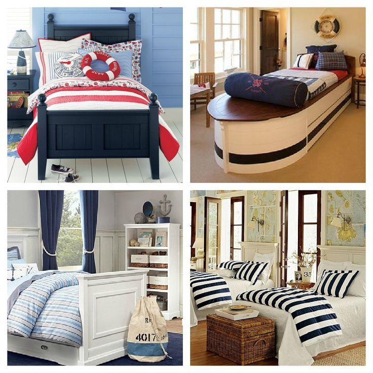 Small Kids Bedroom Design Nautical Bedroom Interior Design Art Deco Bedroom Furniture Kids Bunk Bed Bedroom: Best 25+ Nautical Kids Rooms Ideas On Pinterest