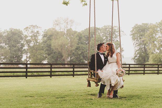 Glam Tankardstown House wedding by Weddings by KARA // www.onefabday.com