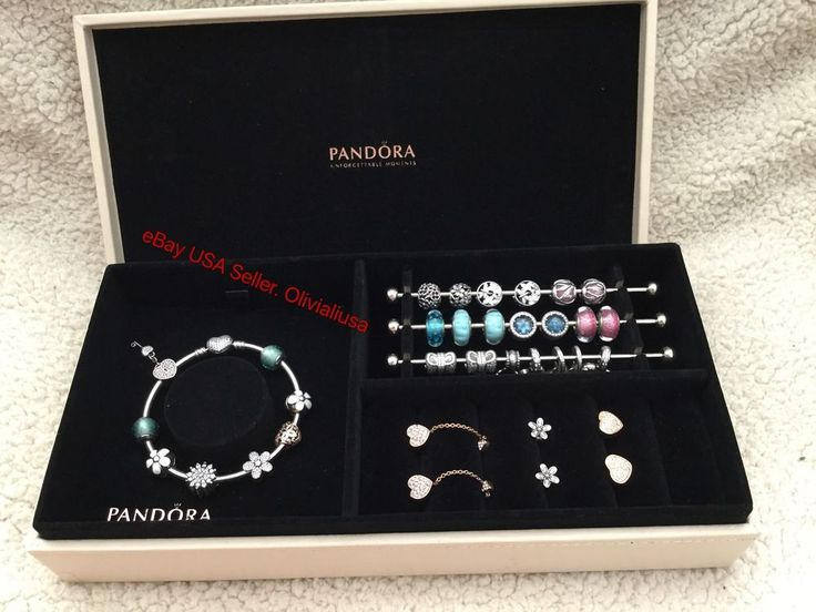 New Pandora Leather Jewelry Box-Stores Charm/ Bangles/ Bracelet/ Limited Edition #PANDORA