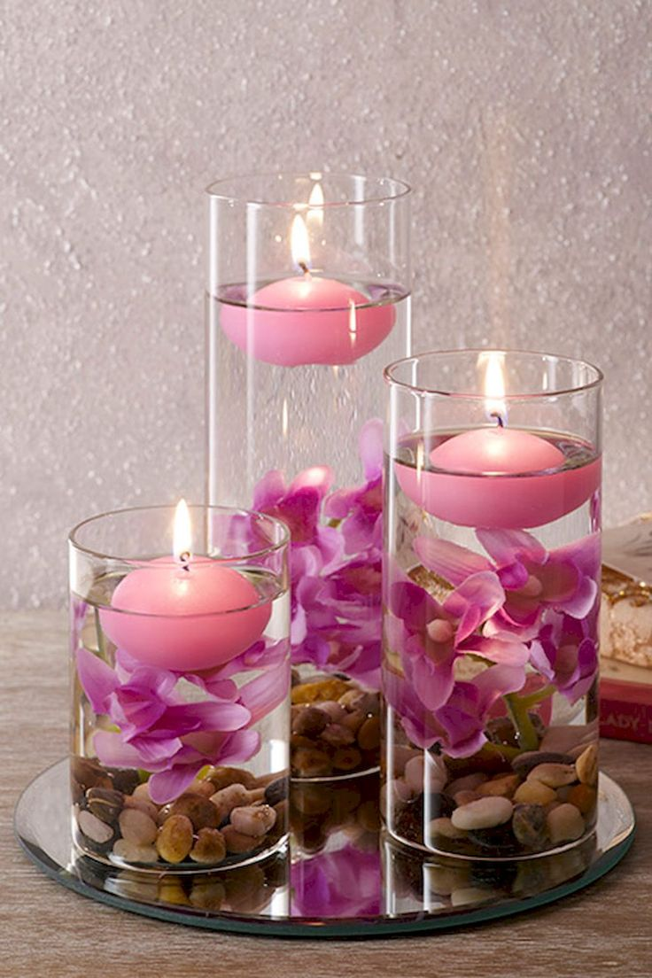 40 DIY Floating Candles Crafts Ideas