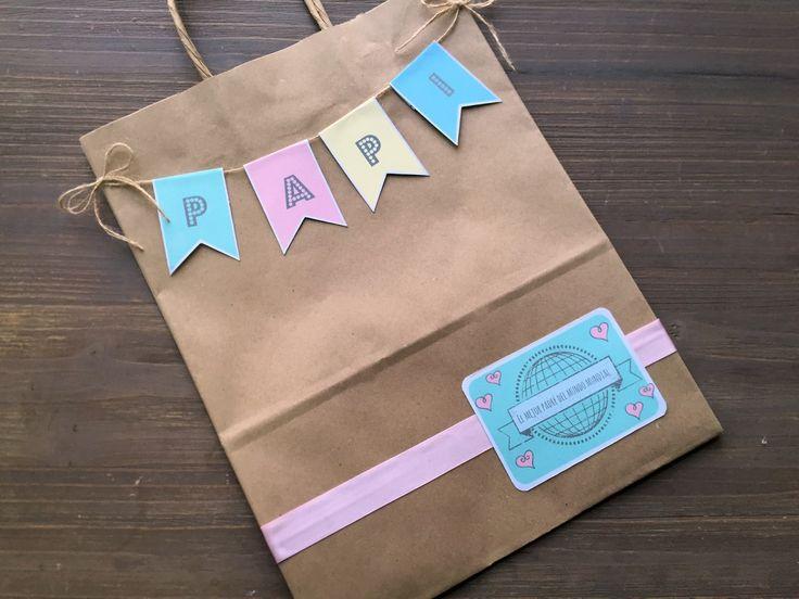 Bolsas de regalo para papá: https://www.cajadecarton.es/bobinas-y-bolsas-papel?utm_source=Pinterest&utm_medium=social&utm_campaign=20160620-bolsas_kraft