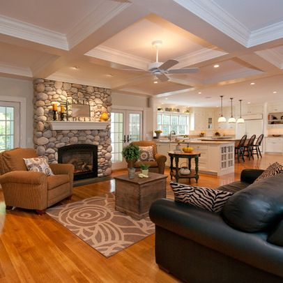 different layout like outside door placement and cabinet separation family room layout design ideas