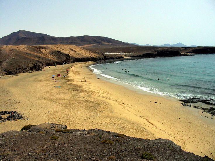 Caleta del Congrio beach. Papagayo. Playa Blanca. Lanzarote