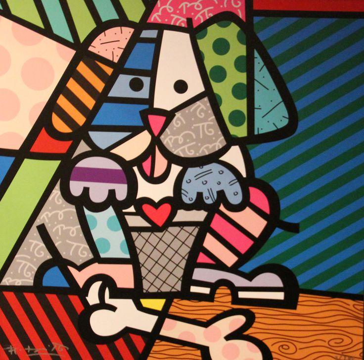 Obras de Romero Brito para por no celular | Luciano Nunes