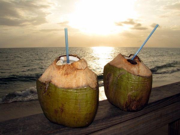 Pirate Special Drink at Villa Cofresi in Rincon, Puerto Rico