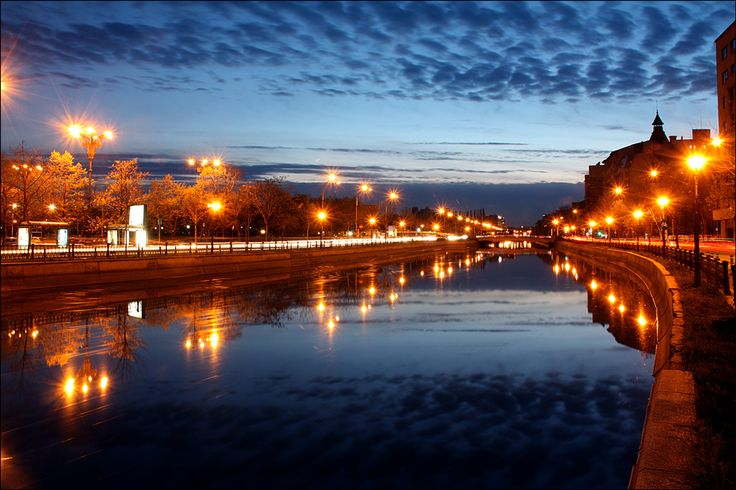 Night-fall - Bucharest, Romania