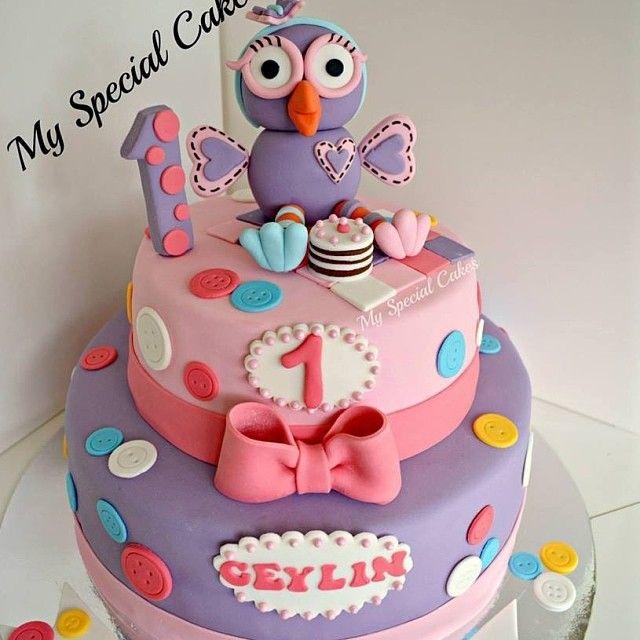 .@myspecialcakes | Giggle & Hoot Cake | Webstagram