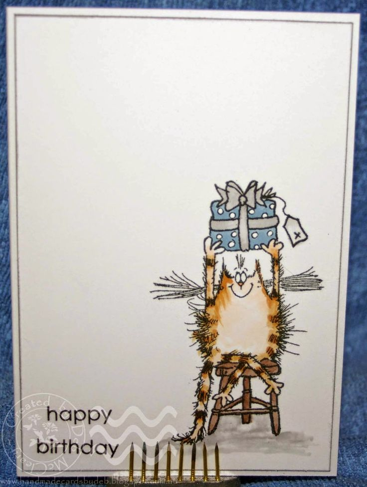 Handmade Cards by Deb - Mitch B