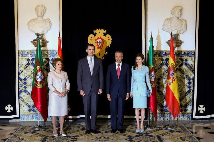 07/07/2014..King Felipe and Queen Letizia Official visit to Portugal.