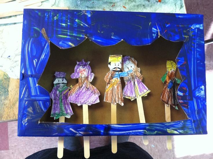 Purim- puppet show