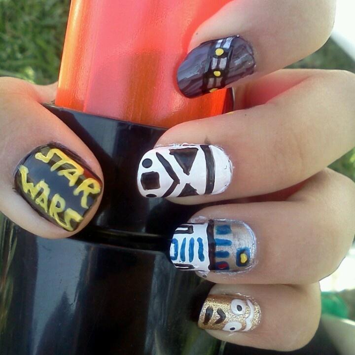 235 best Geek nails images on Pinterest   Nail art ideas, Nail ...