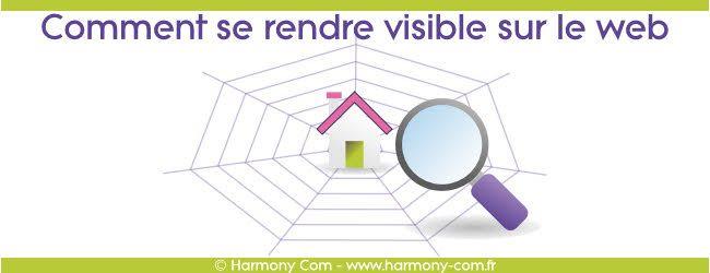 Comment rendre son #site  visible sur le web