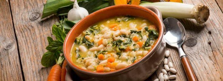 Hustá zeleninová polévka s fazolemi | Svět zdraví