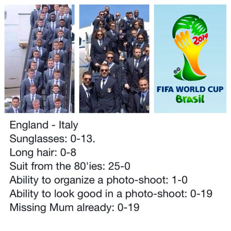 Italy vs. Enlgand #WorldCup arrives