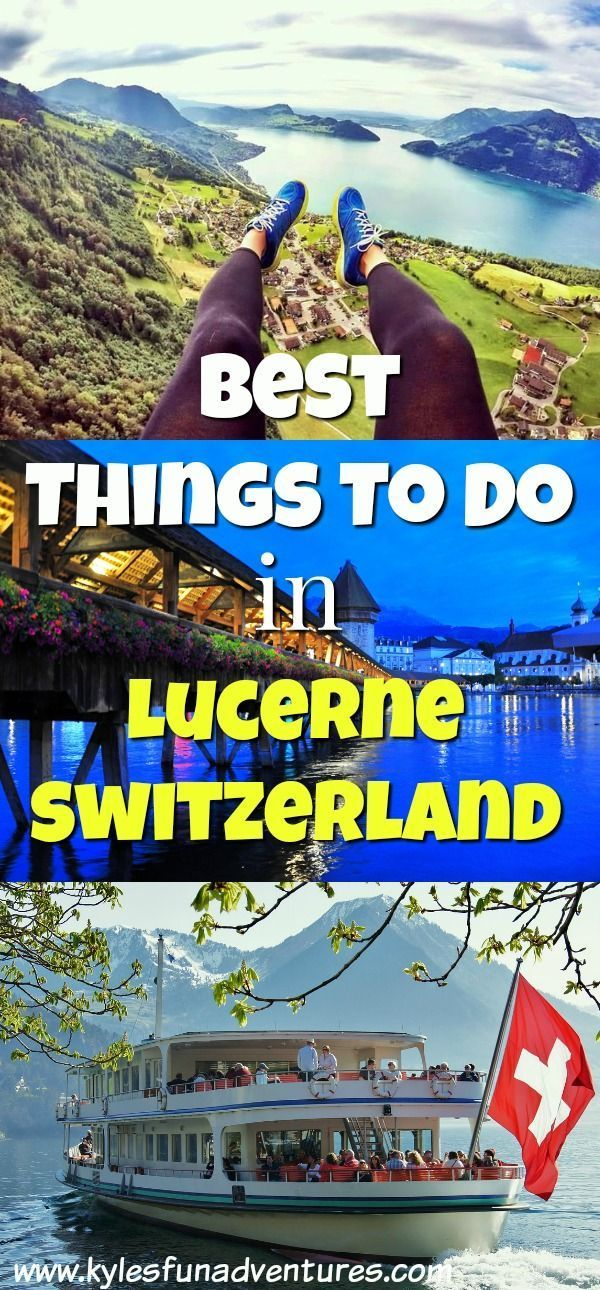 Planning to visit Lucerne Switzerland in 3 days? Check our list of fun things to do in Lucerne, Switzerland | Lucerne Attractions | Best Things to do in Lucerne #Lucerne #Switzerland #europetrip #thingstodoinlucerne