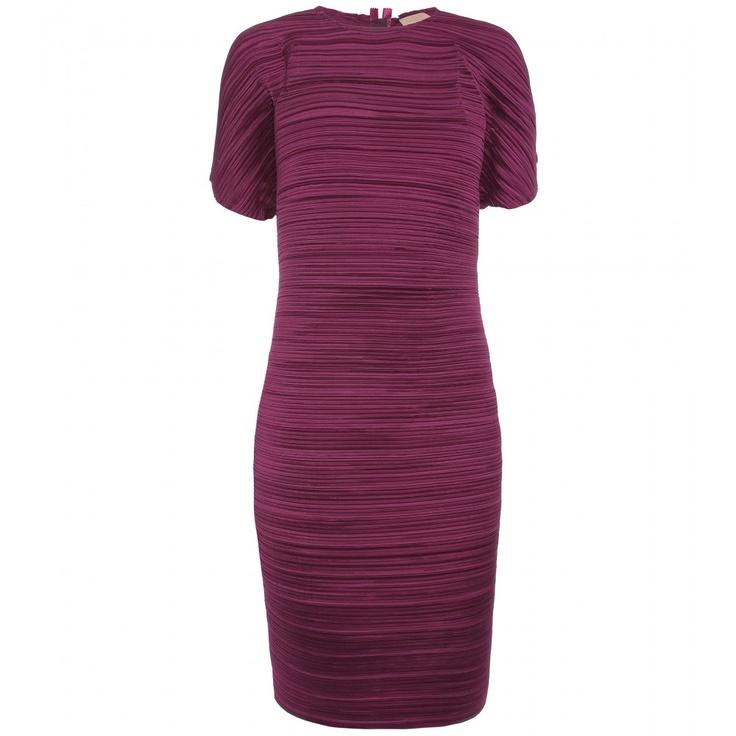 Lanvin Pleat Shift Dress